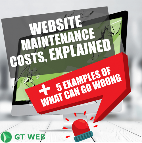 website maintenance, web maintenance cost