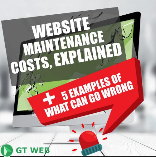 website maintenance, web maintenance cost