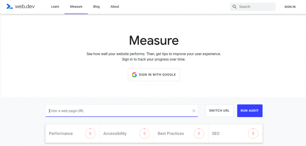 how to test a website